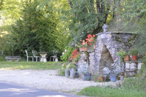 The historic well of Peyre St Front
